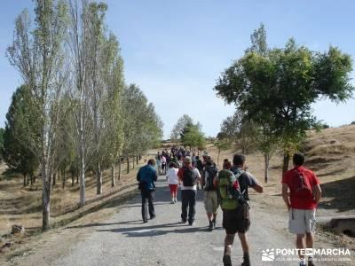 Cañones del Río Cega y  Santa Águeda  – Pedraza;agencias de viajes para grupos rio bidasoa mapa